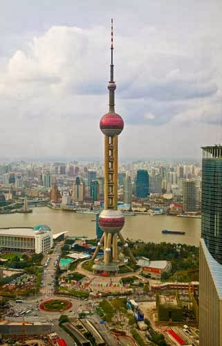 Oriental Pearl TV Tower Shanghai, China