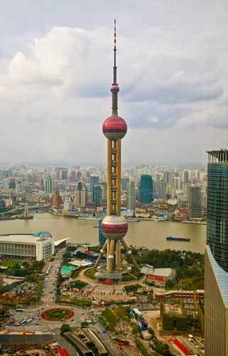 Oriental Pearl TV Tower Shanghai, China