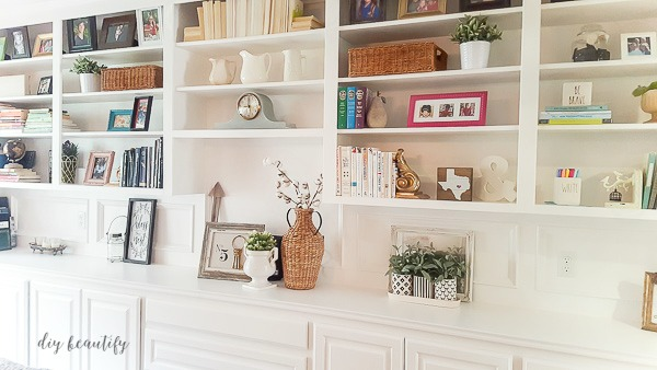 bookcase cabinets living room open design kitchen rooms the right paint for and bookcases diy beautify painted