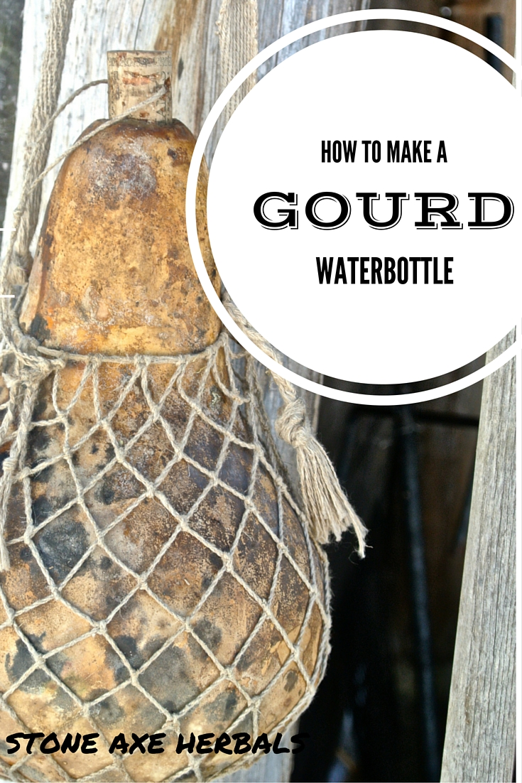 How To Make A Gourd Water Bottle