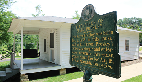 Elvis Presley Birthplace Tupelo Mississippi
