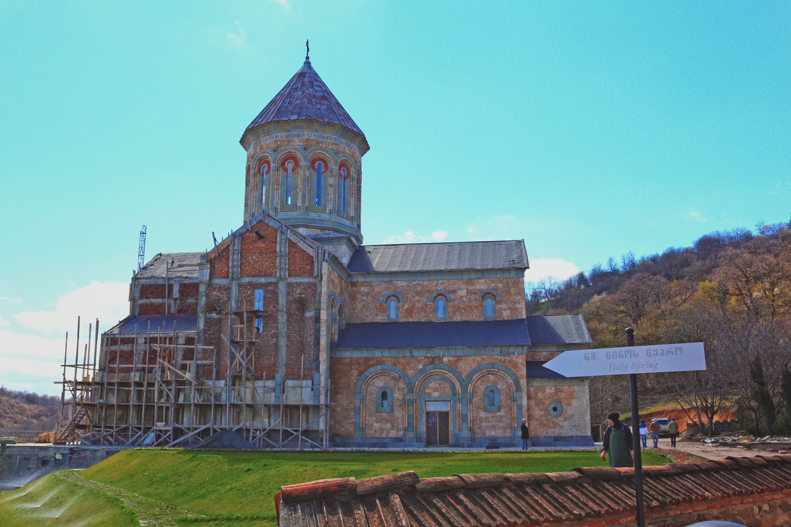 new church in Bodbe Monastery