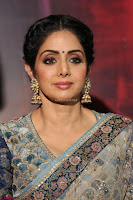 Sri Devi in designer saree stunning beauty at the launch of MOM movie Trailer~  Exclusive 026.JPG