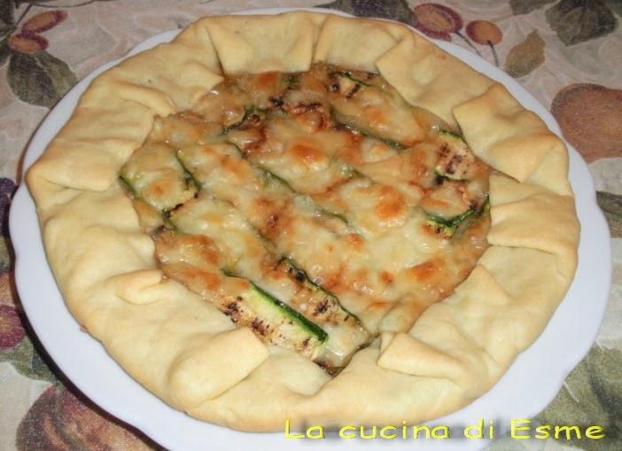La cucina di esme torta rustica alle zucchine - La cucina di esme ...