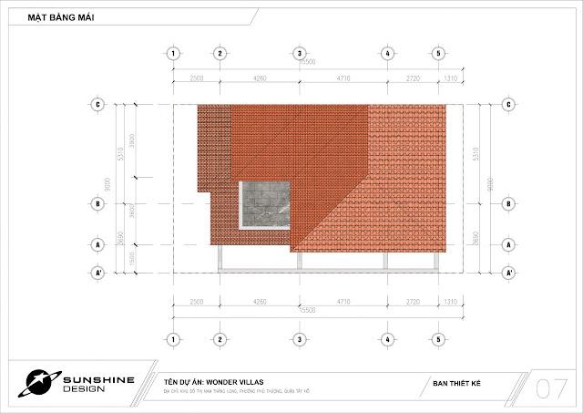 Dự án Sunshine Wonder Villas khu đô thị Ciputra, Phú Thượng, Tây Hồ thiết kế biệt thự đơn lập