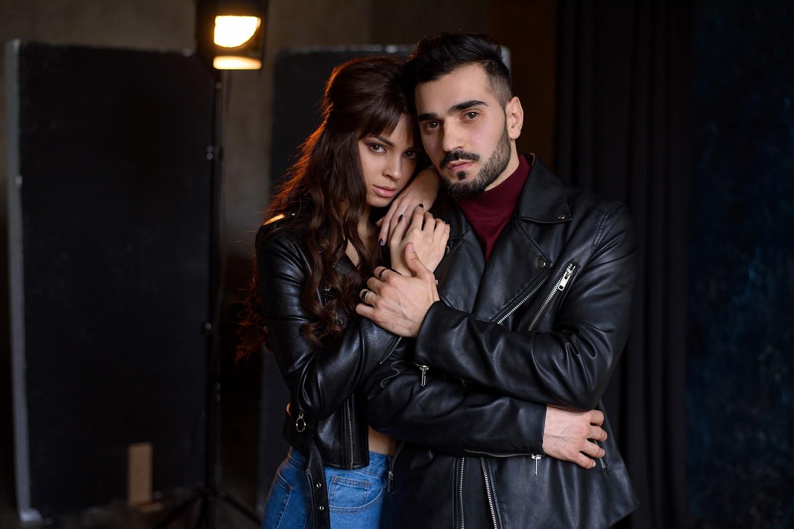 Анвар и Таня. Фотосессия в студии
