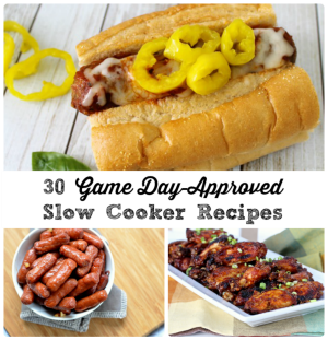 Don't miss a single play of the game this weekend with these fix-it & forget-it 30 Game Day-Approved Slow Cooker Recipes