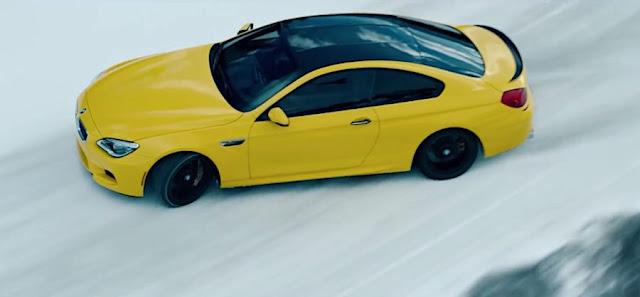 BMW M6でカナダの雪上を疾走!オイルメーカー「ペンゾイル」のプロモーション映像。