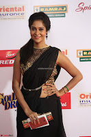 Sindhu looks fabulous in Black Saree designer choli at Mirchi Music Awards South 2017 ~  Exclusive Celebrities Galleries 029.JPG