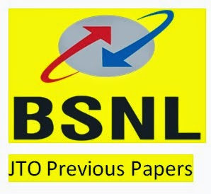 BSNL JTO Previous Papers