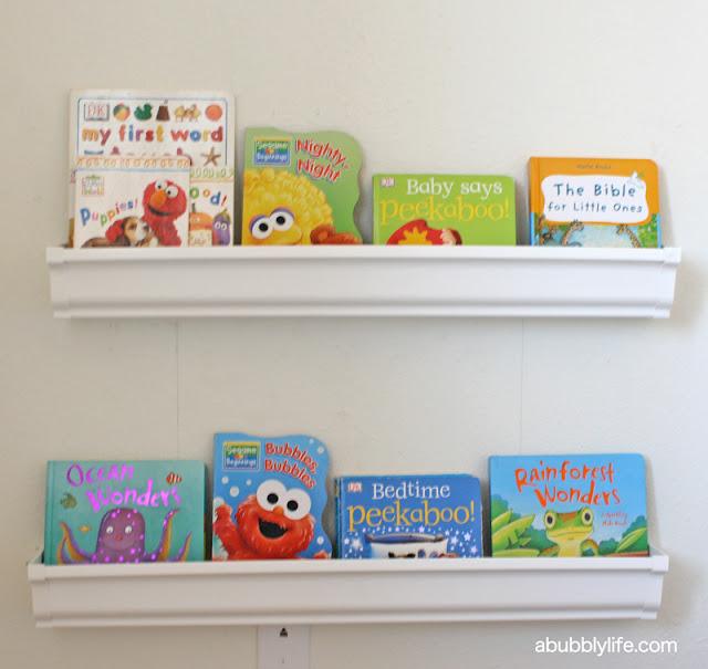 A Bubbly Life: Kalia's Nursery Update- Rain Gutter Book