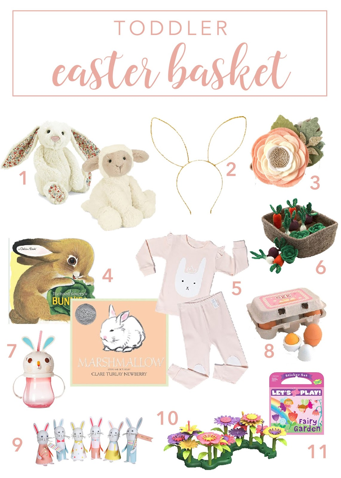 Toddler Girl Easter Basket Ideas