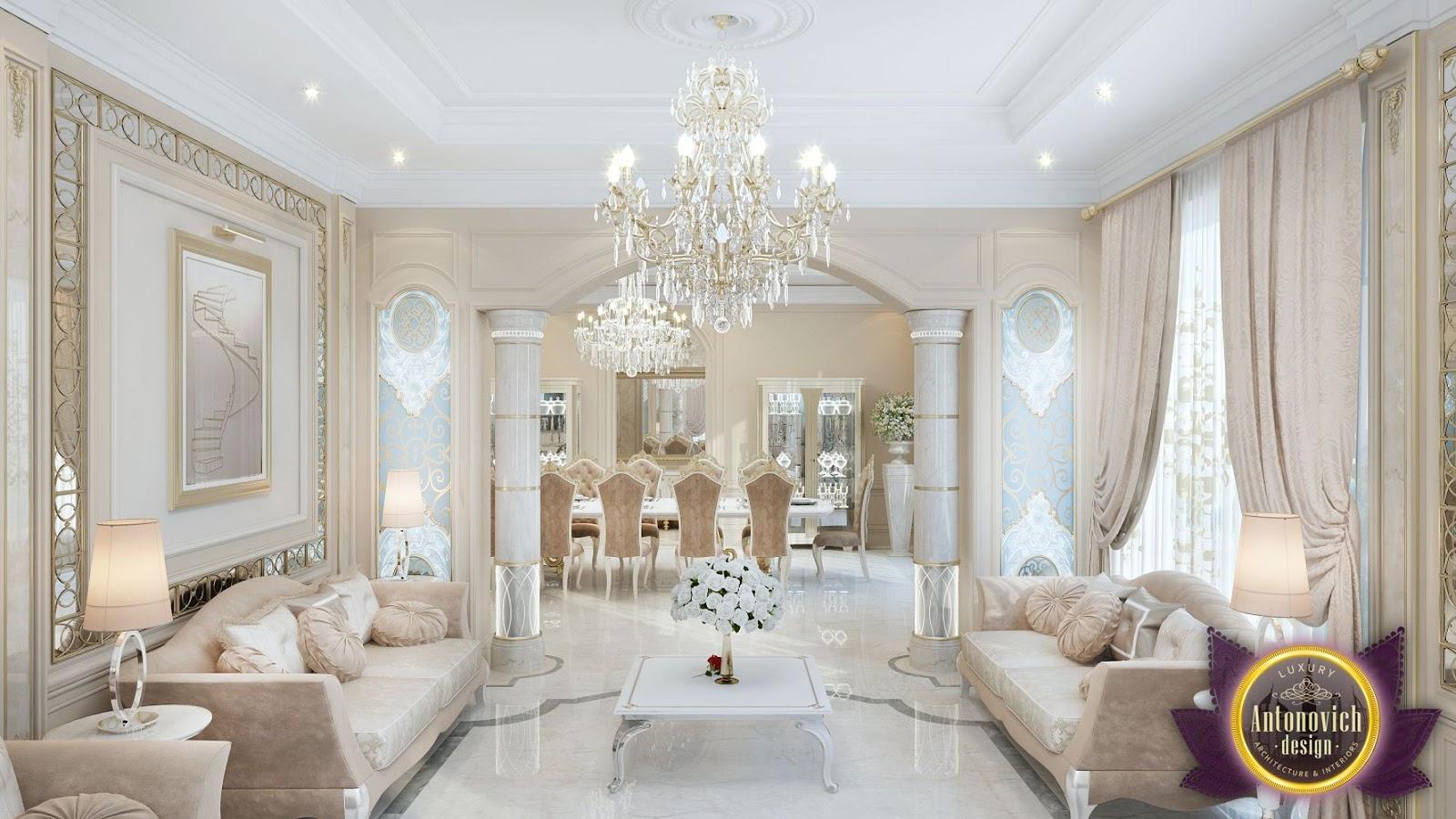 Kenyadesign: Interior design living room by Katrina Antonovich