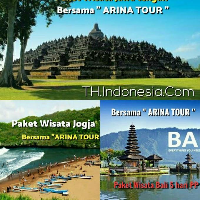 """Nikmati Perjalanan Wisata Anda Bersama """" ARINA TOUR & TRAVEL"""". Yang Memberi Pelayanan Dengan Sepenuh Hati"""