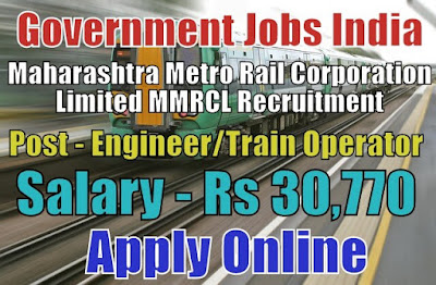 Maharashtra Metro Rail Corporation Limited MMRCL Recruitment 20187