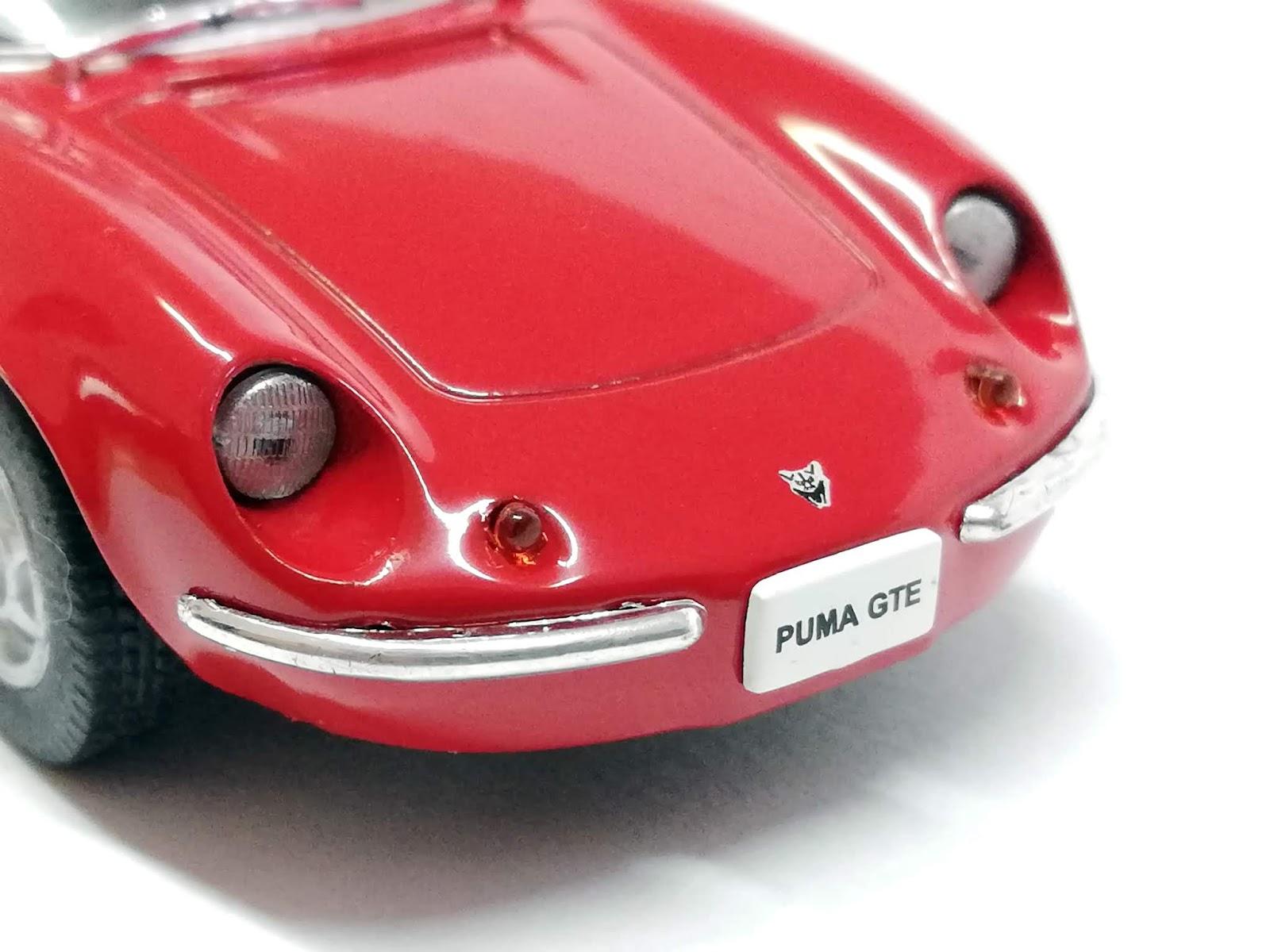 PASIÓN A ESCALA: En detalle: Puma GTE 1:43 by IXO