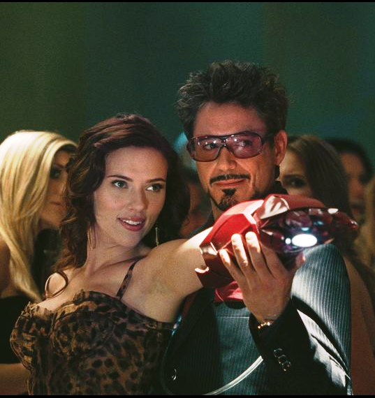 Johansson made her debut appearance in Iron Man 2.