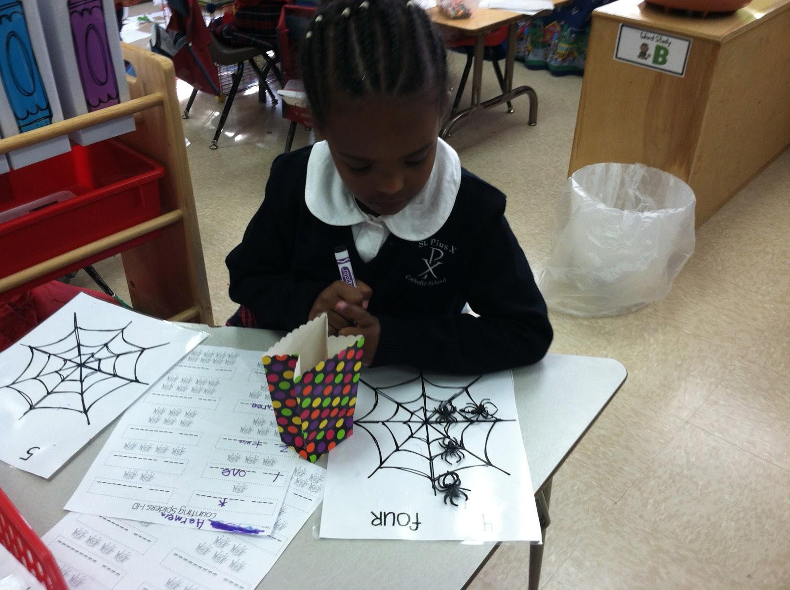 Ms Solano S Kindergarten Class Bats Amp Spiders Amp Labels Oh My