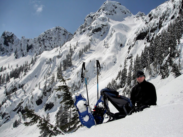 Snowshoeing in Washington state