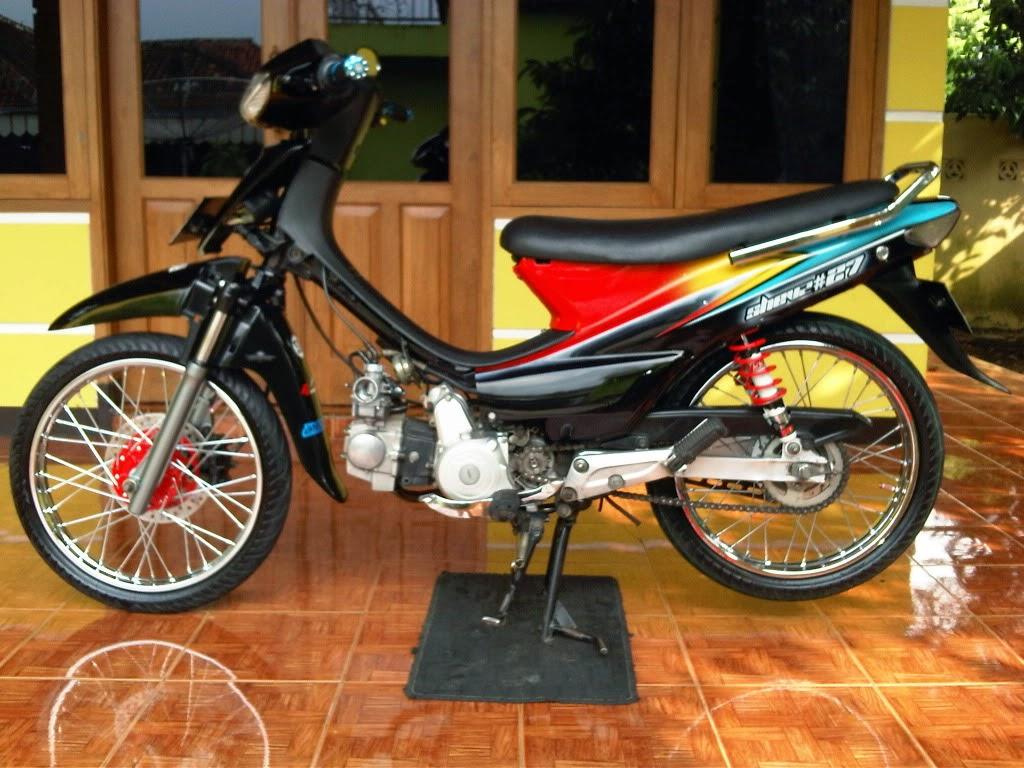 modifikasi motor honda supra fit 2004 terbaru - otomotiva