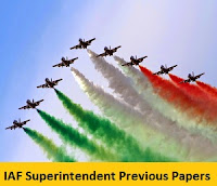 IAF Superintendent Previous Papers