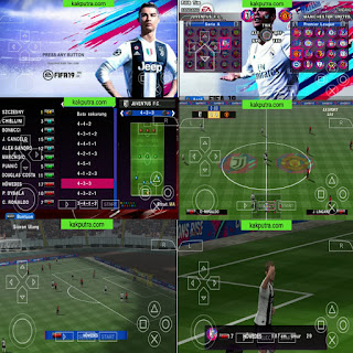 Download FIFA 19 PPSSPP New Kits & Transfer Update di Android + Camera Jauh || Jogress V4.1