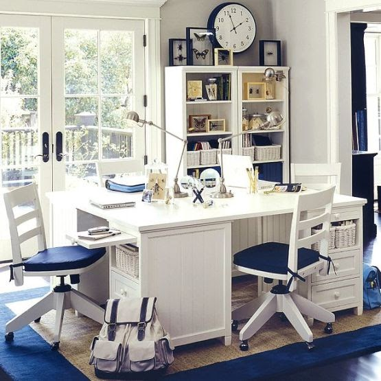 Study Room At Home: Home Design Interior: Kids Study Room Design