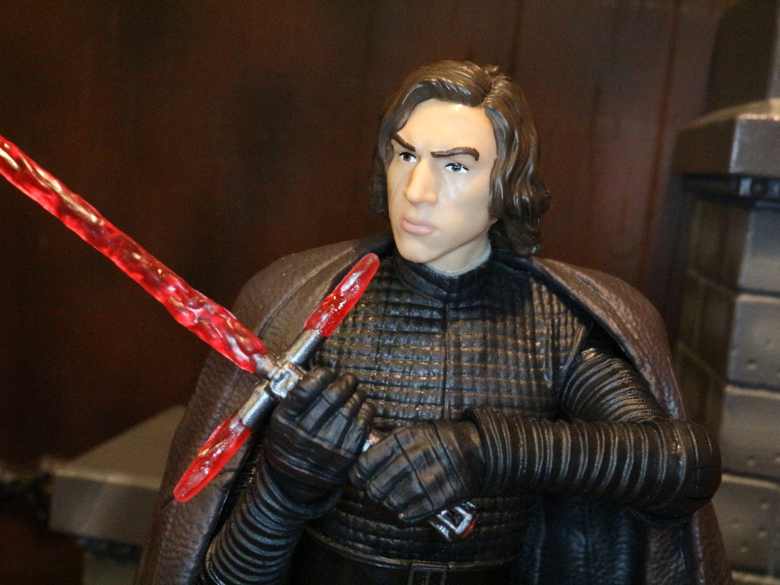 action figure barbecue road to the last jedi kylo ren from star