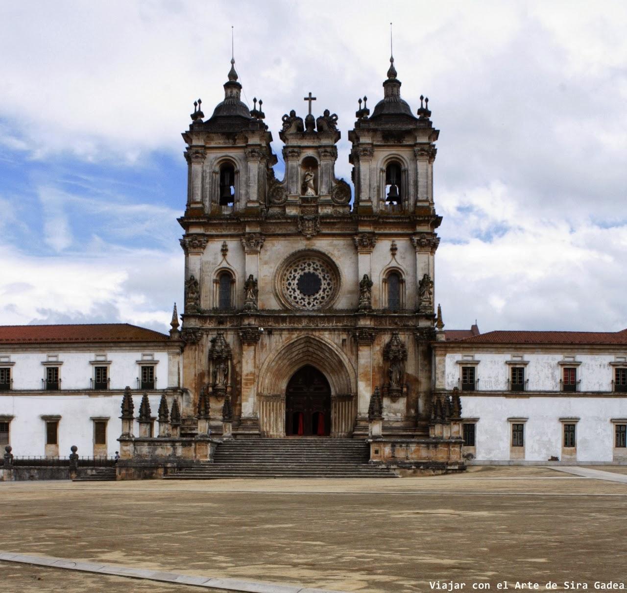 Fachada Alcobaça