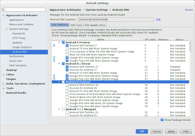 Ridzwan's Blog: How to Install Android Studio on a 64-Bit Debian Linux