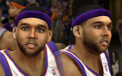 NBA 2K13 Jared Dudley Cyberface Patch