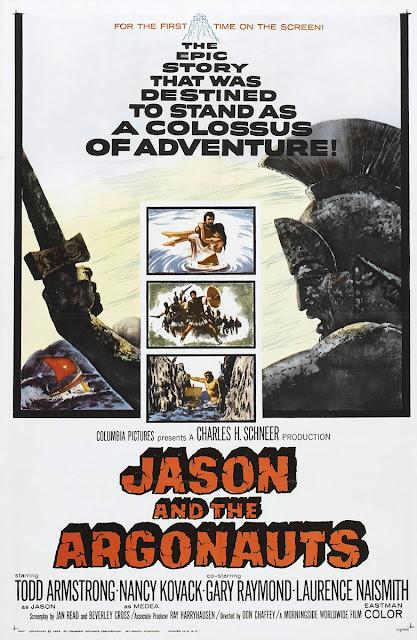 Póster película Jasón y los argonautas