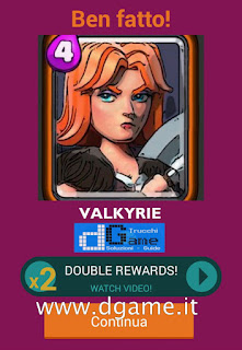 Soluzioni Quiz Clash Royale card livello 27
