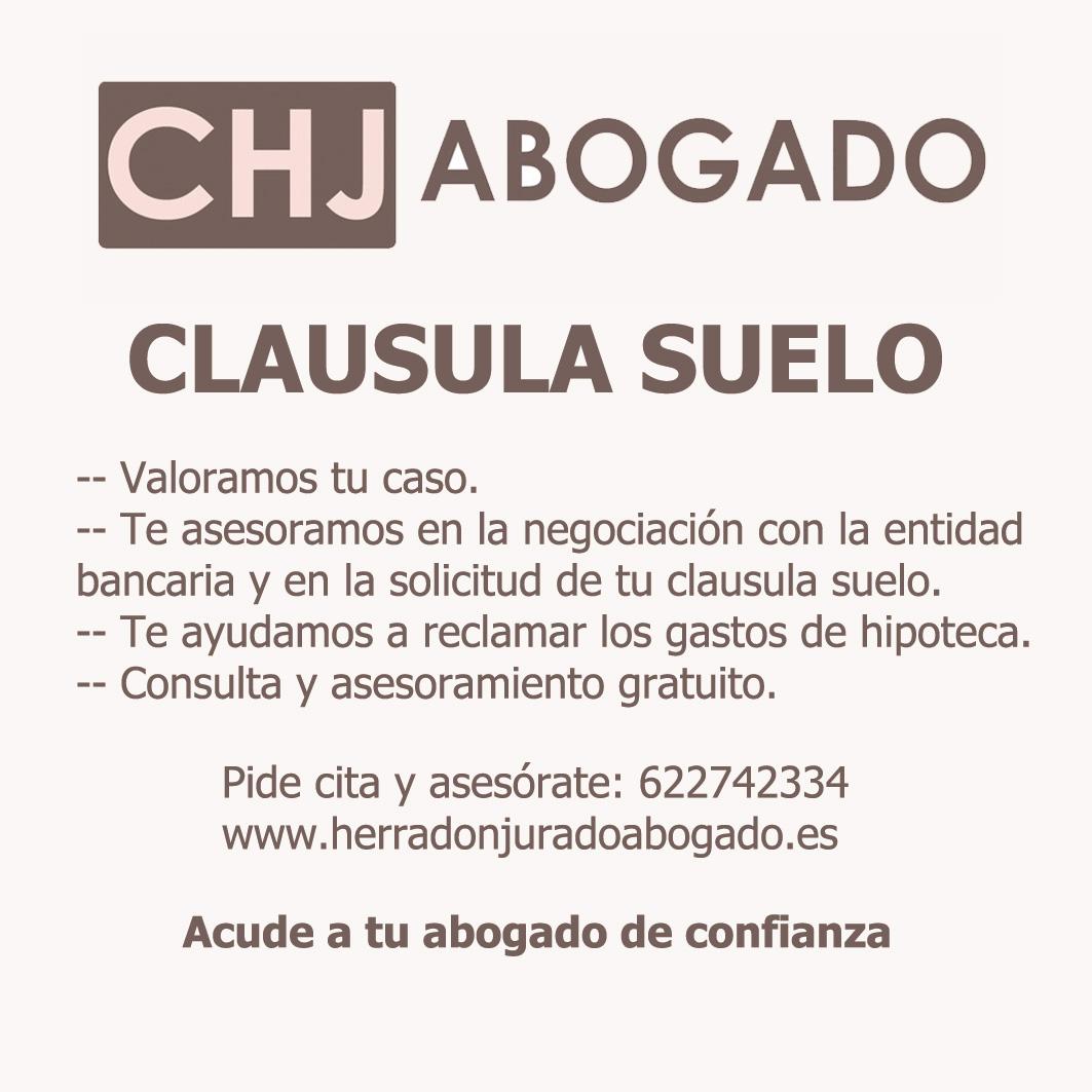 Herrad n jurado abogado clausula suelo for Clausula suelo hipoteca