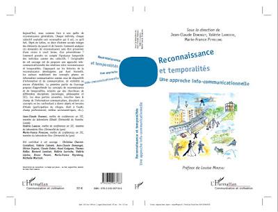 Couverture ouvrage Reconnaissance et temporalités
