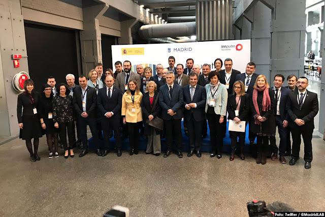 Asistentes al encuentro sobre innovación en Madrid