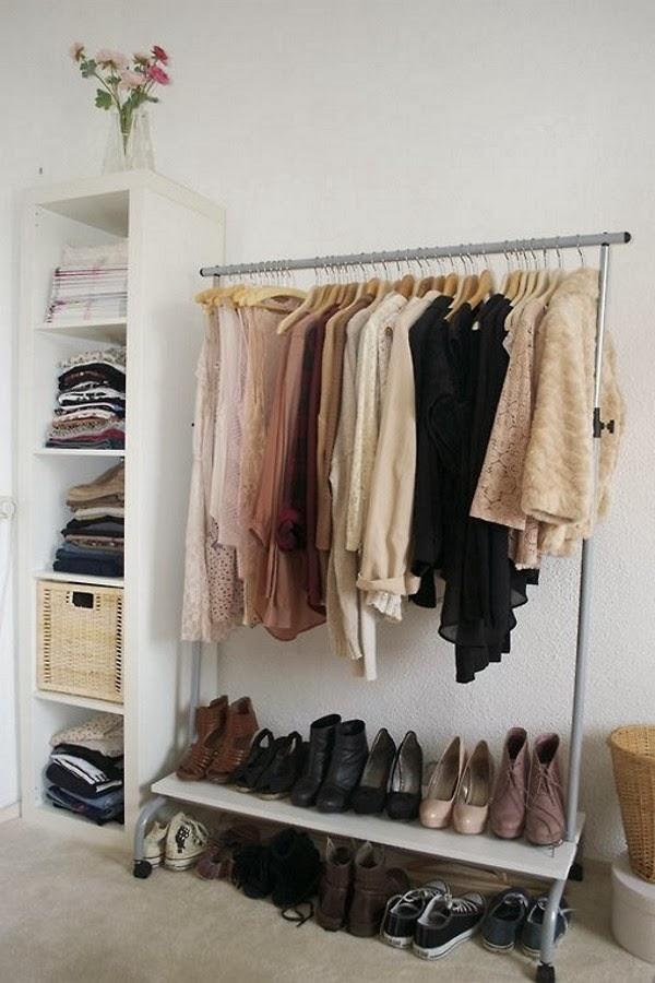 Armários Improvisados - Open Closets - Armários Abertos