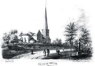 Patrimoine de l'Allier: église de Vallon