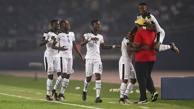 Ghana tops Group 'A', dream ends for host nation, by scoring India 4 goals [Watch Full Video]