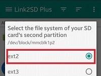 Cara Menggunakan Link2SD 4.0.12 Memindahkan Aplikasi Android Dari Internal Ke partisi Ext2 MicroSD (ROOT)