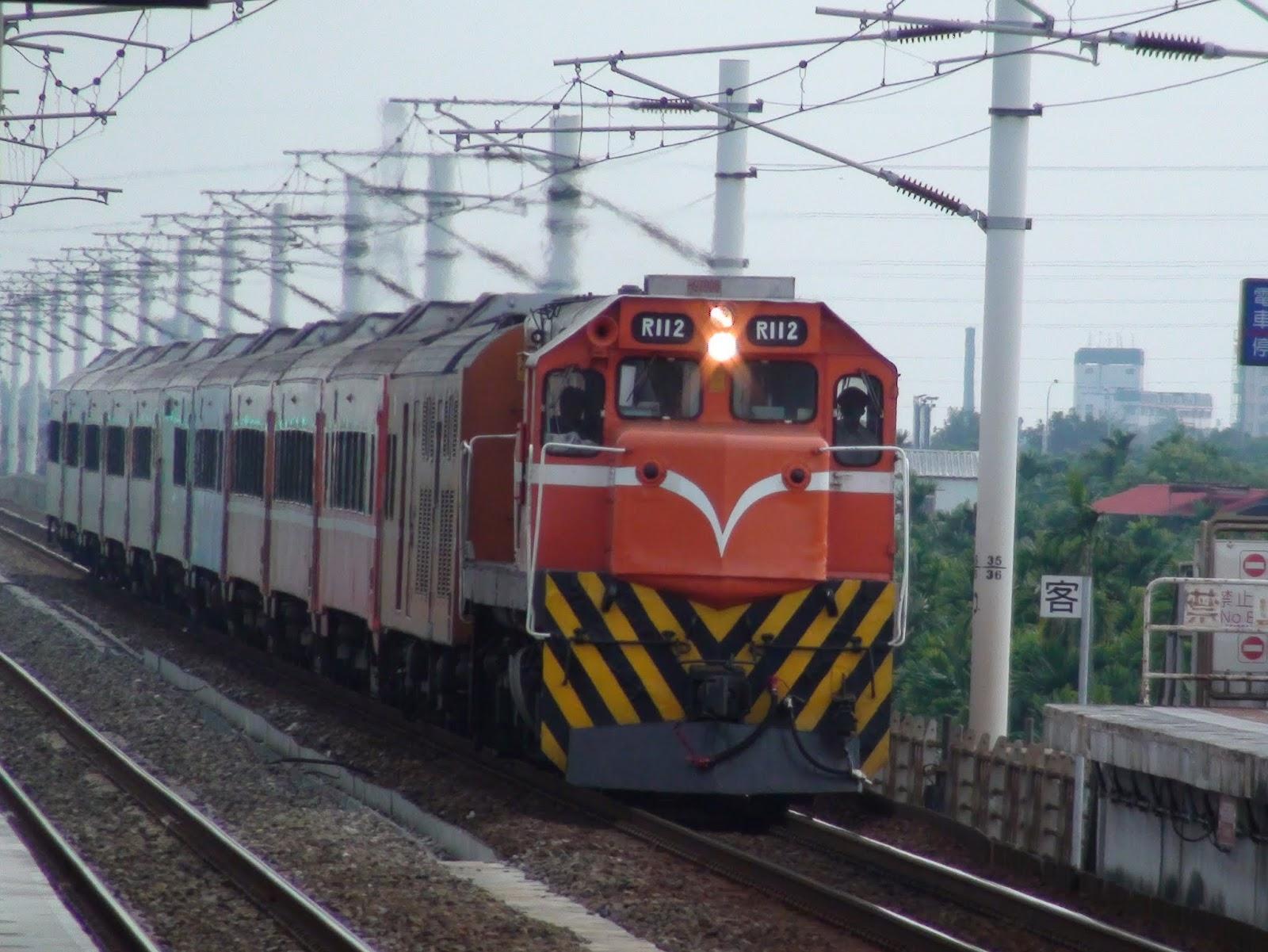 Blair's 鐵道攝影: R112柴電機車 / TRA R112 Diesel-electric Locomotive