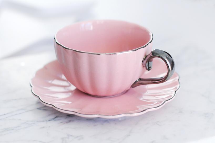 target pink teacup saucer