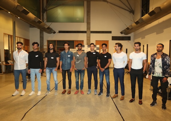 Models at #GETNOTICED female and male model auditions for the Amazon India Fashion Week Spring-Summer 2017, in association with Maybelline New York