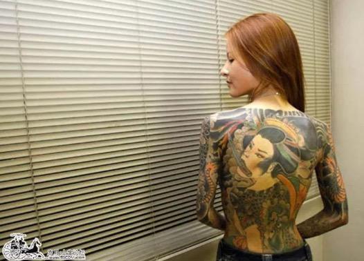 Shoko Tendo, Anak Perempuan Ketua Kumpulan Yakuza Jepun