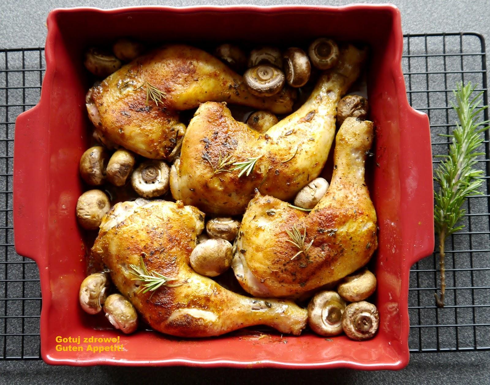 Chrupiace Udka Kurczaka Z Pieczarkami Kulinaria Zblogowani