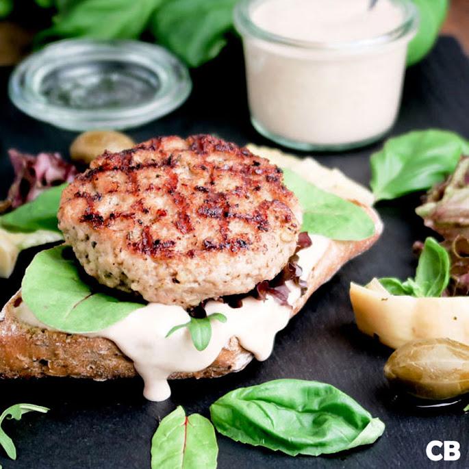 Recept Kalfshamburgers met tonijnmayonaise