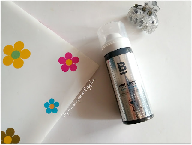 BBLUNT Back to life dry shampoo for instant freshness review