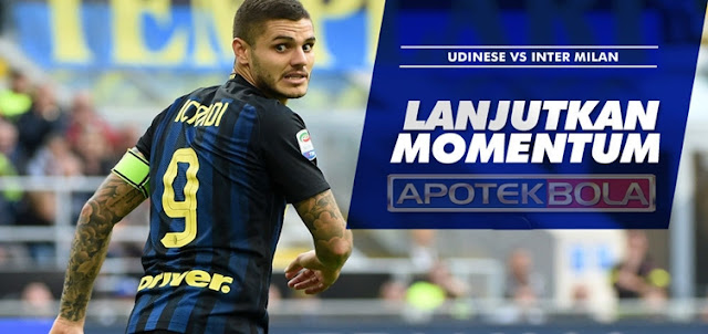 Prediksi Pertandingan Udinese vs Inter Milan 8 Januari 2017