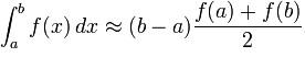 Trapezoidal Rule - Formula