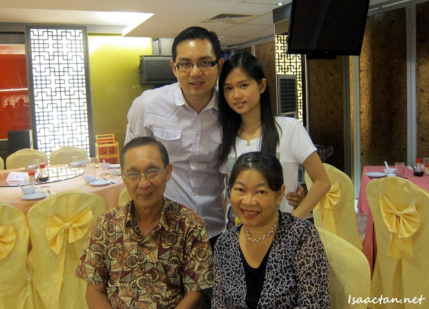 Isaac Tan with Family